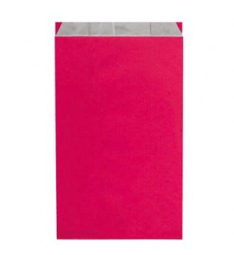 Fuchsiafarvet gavepose 30x9x49½ cm - emballage