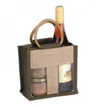Gavepose med vindue 18½x10x18 cm - emballage