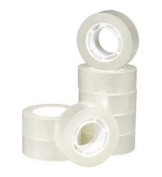 Tape, lille rulle, emballage, kontorartikler - www.boxel.dk