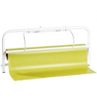 Papirafriver til 65/70 cm rulle. Skal fastgøres til væg - emballage