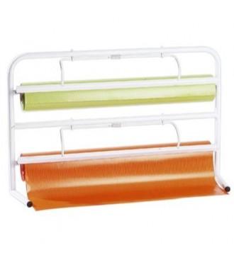 Papirafriver til 2 ruller á 70 cm - emballage