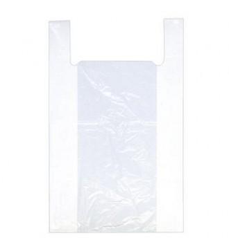 Hvid plastpose 55x20x90 cm - emballage