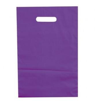 Lilla plastikpose 35x4x45 cm - emballage