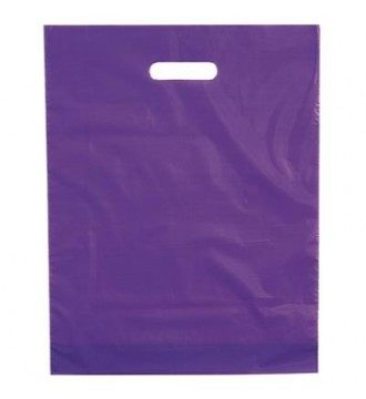Lilla plastikpose 50x5x50 cm - emballage