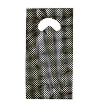 Plastikpose med Guld print 15x3/3x30 cm