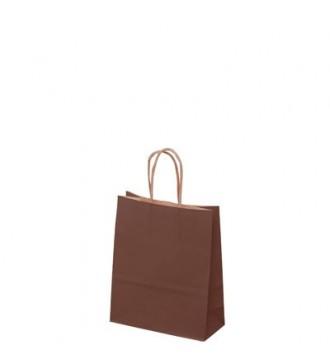 Brun papirspose 19x8x24 cm - emballage