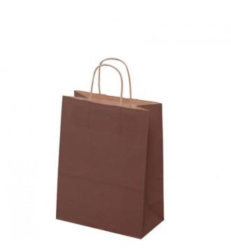 Brun papirspose 24x12x31 cm - emballage