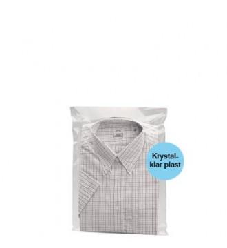 Tekstilpose med selvklæb 23x31 cm - emballage