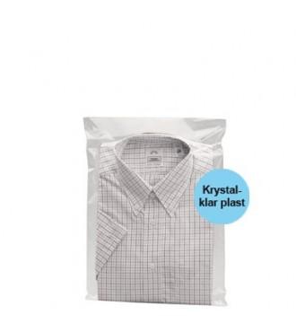 Tekstilpose med selvklæb 27x38 cm - emballage