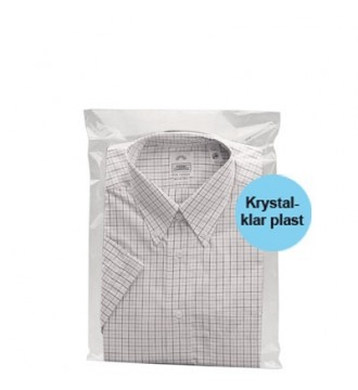 Tekstilpose med selvklæb 30x40 cm - emballage