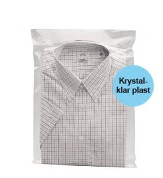 Tekstilpose med selvklæb 35x45 cm - emballage