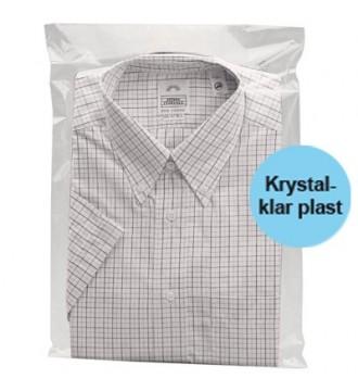 Tekstilpose med selvklæb 40x60 cm - emballage