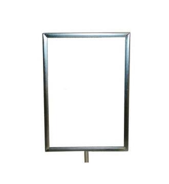 Skilteholder A4 Hvid