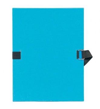 Mappe blå