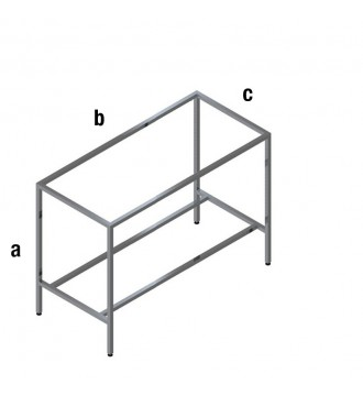 Salgsbord - QUATRO bordstel - QUATRO LINE inventarsystem - butiksinventar - www.boxel.dk