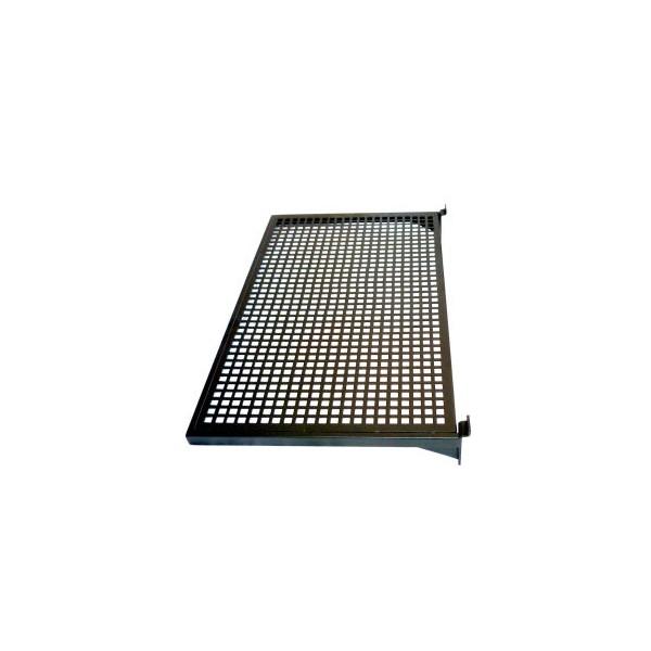 Utroligt Sort metalhylde med metalnet til rillepanel slatboard YO55