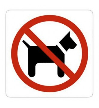 Billedresultat for hunde ingen adgang