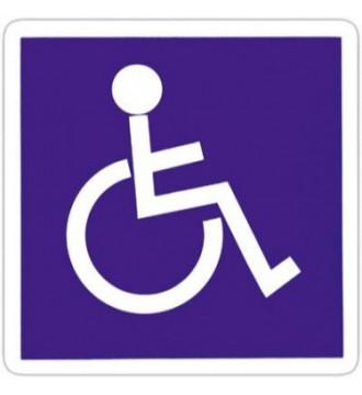 Pictogram Handicap, skilte - www.boxel.dk
