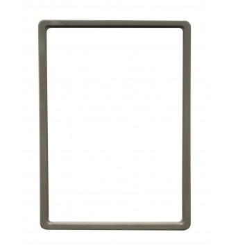 A4 Skilteholder grå