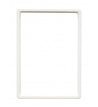 A4 Skilteholder hvid