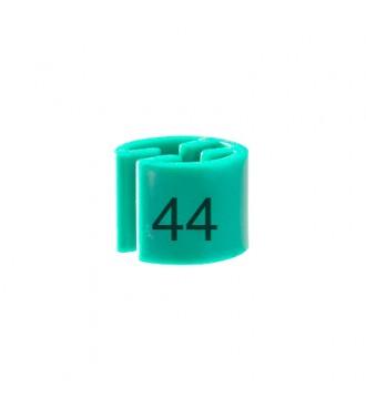 Bøjlemarkering. Minibrik Str. 44, 100 stk. Mintgrøn