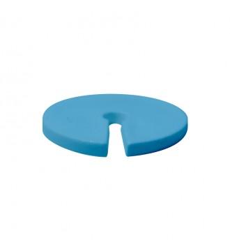 Bøjlemarkering. Infoskiver t/3mm krog 100 stk. BLÅ