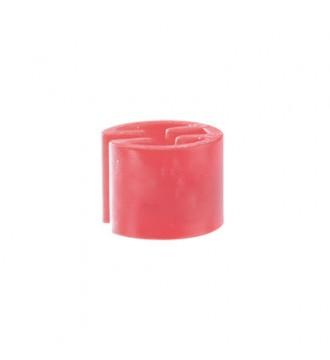 Bøjlemarkering. Mini brikker u/tryk, 100 stk. PINK