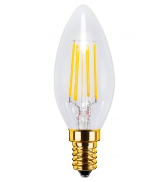 LED Candel E14 4W 320lm 2200K