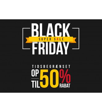 Black Friday Plakat 50%