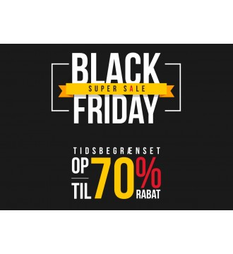 Black Friday Plakat 70%