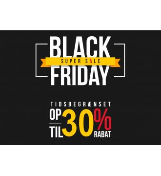 Black Friday Plakat 30%