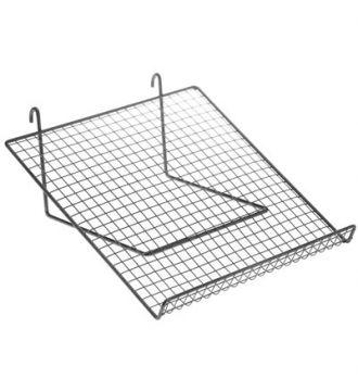 Metal trådhylde til gitter - 35 x 35 cm