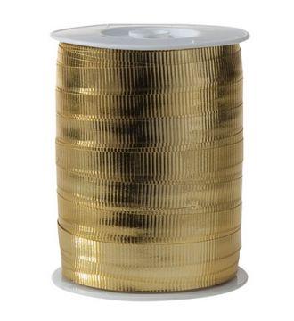 Metallic gavebånd, guld