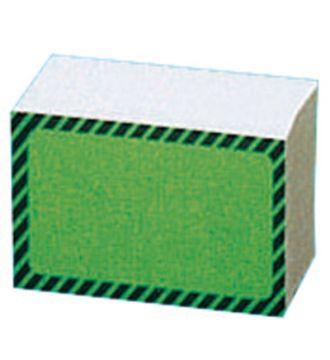 Papetiket, 4x6 cm