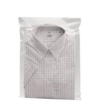 Textilpose. M/selvklæb 40x60cm. TRANSPARENT