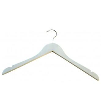 Voksenbøjle, 45 cm, blank hvid. 1 stk.