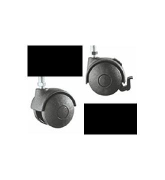 Nylonhjul 50 mm (sæt á 5 stk.)
