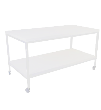 Salgsbord 120 cm, med 1 hylde