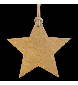 Gavemærke. Juletræ.100 stk. Guld
