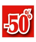 Rabatserie 50%