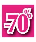 Rabatserie 70%