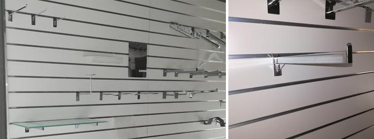 Slatboardvæg fra boxel.dk eget showroom
