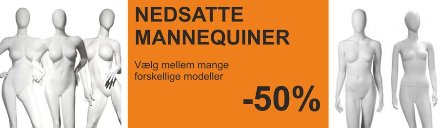Nedsatte mannequiner -50%