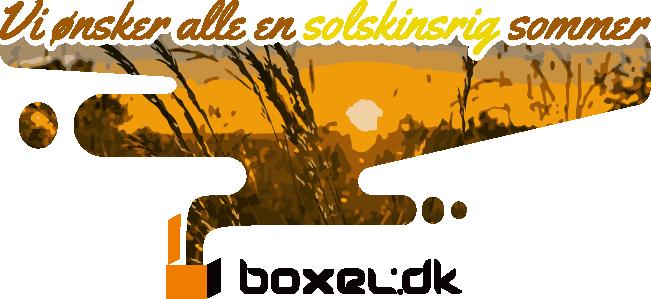 Boxel.dk holder lukket uge 28 og 29